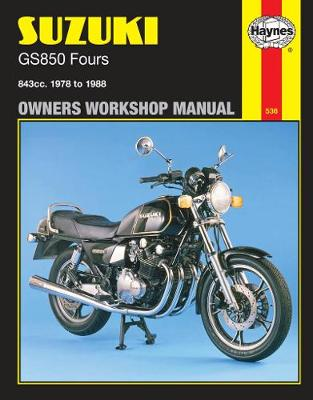 Suzuki GS850G/GL Fours 1978-1983 Repair Manual