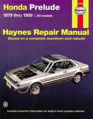 Honda Prelude CVCC (79 - 89)