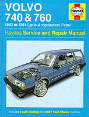 Volvo 740 and 760 (Petrol) 1982-91 Service and Repair Manual