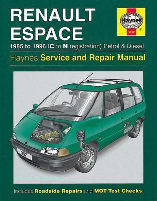 Renault Espace Petrol & Diesel (85 - 96) C To N