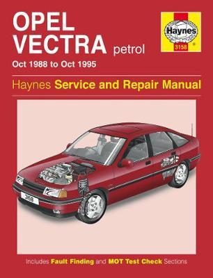 Opel Vectra Petrol (Oct 88 - Oct 95)