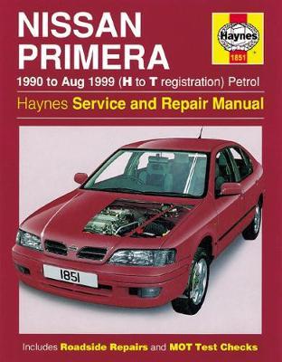 Nissan Primera Petrol (90 - Aug 99) H To T