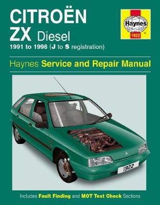 Citroen ZX Diesel (91 - 98) J To S