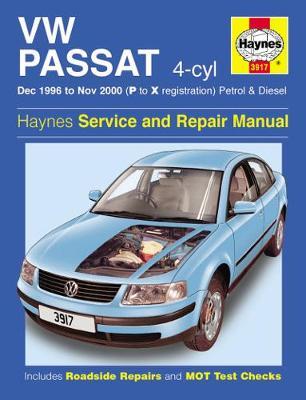 VW Passat 4-Cyl Petrol & Diesel (Dec 96 - Nov 00) P To X