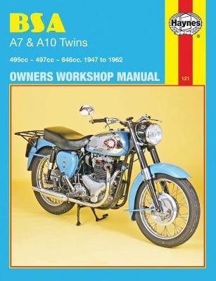 BSA A7 and A10 Twins 1947-1962 Repair Manual