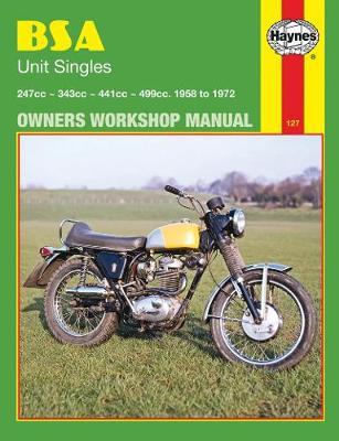BSA Unit Singles 1958-1972 Repair Manual