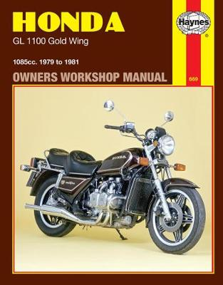 Honda GL1100 Gold Wing  1979-1981 Repair Manual