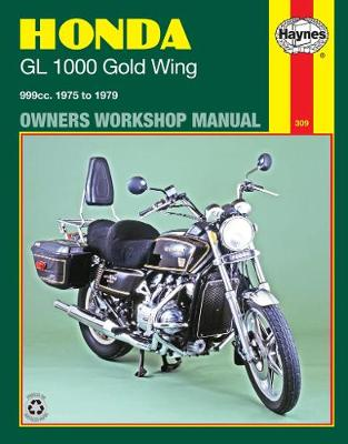 Honda GL1000 Gold Wing 1975-1979 Repair Manual