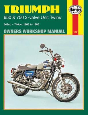 Triumph 650 and 750 2-valve Unit Twins 1963-1983 Repair Manual