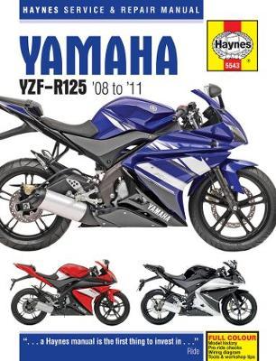 Yamaha YZF-R125 2008-2011 Repair Manual