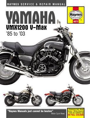 Yamaha VMX1220 V-Max 1985-2003 Repair Manual