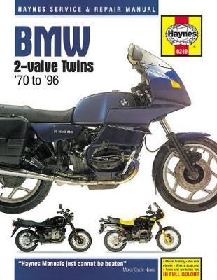 BMW 2-valve Twins 1970-1996 Repair Manual