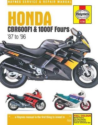 Honda CBR600F1 & 1000F Fours 1987-1996 Repair Manual