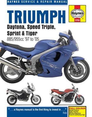 Triumph Daytona/Speed Triple/Sprint/Tiger 885/955 1997-2005 Repair Manual