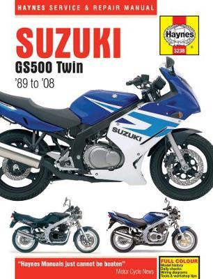 Suzuki GS500 Twin 487cc 1989-2008 Repair Manual