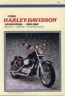 Harley-Davidson Sportster 1959-1985 Repair Manual
