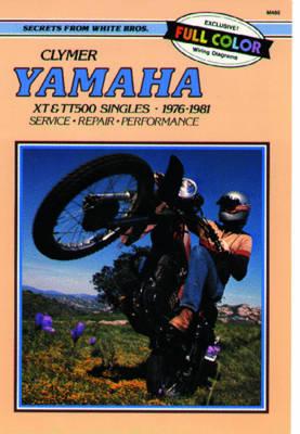 Yamaha XT500 & TT500 1976-1981 Repair Manual