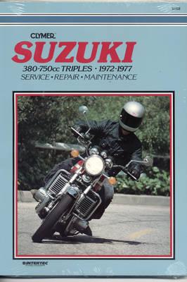 Suzuki GT380/550/750 1972-1977 Repair Manual