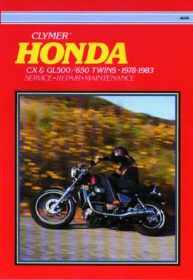 Honda CX and GL500/650 1978-1983 Repair Manual
