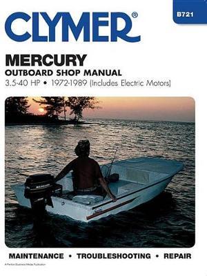 Mercury 3.5-40 HP Outboard incl electric motors 1972-1989 Repair Manual