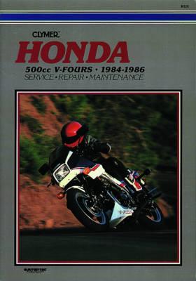 Honda 500cc V-Fours Magna & Inceptor 1984-1986 Repair Manual
