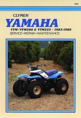 Yamaha YTM200/YTM225 1983-1985 & YFM200 ATV 1985-1986 Repair Manual