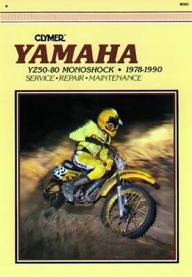 Yamaha YZ50-80 Monoshock 1978-1990 Repair Manual