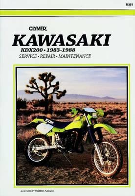 Kawasaki KDX200 1983-1988 Repair Manual