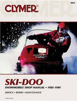 Ski Doo Snowmobile Formula MX-Mach I Models 1985-1989 Repair Manual