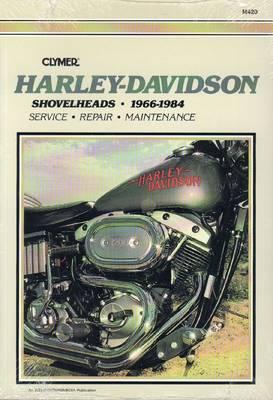 Harley-Davidson Shovelhead 1966-1984 Repair Manual
