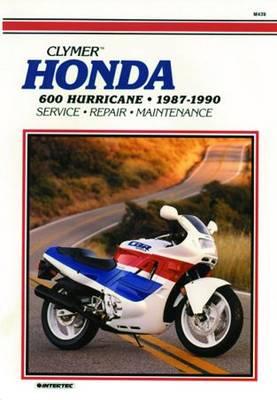 Honda CBR600F Hurricane 1987-1990 Repair Manual