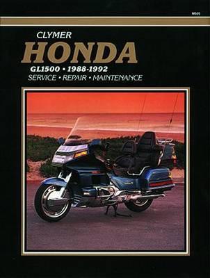 Honda GL1500 Gold Wing 1988-1992 Repair Manual