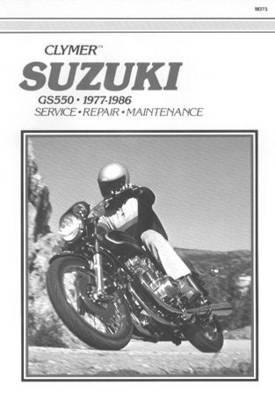 Suzuki GS550 1977-1986 Repair Manual