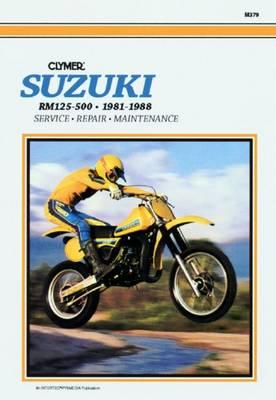 Suzuki RM125-500 Single Shock 1981-1988 Repair Manual