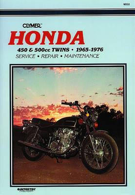 Honda CB/CL450 & CB500T 1965-1976 Repair Manual