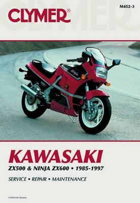 Kawasaki ZX500 & Ninja ZX600 1985-1997 Repair Manual