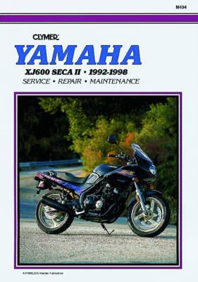 Yamaha XJ600 Seca II/Diversion 1992-1998 Repair Manual