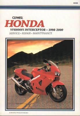 Honda VF800FI Interceptor 1998-2000 Repair Manual