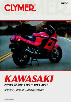 Kawasaki Ninja ZX900, ZX1000 & ZX1100 1984-2001 Repair Manual