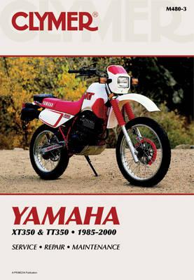 Yamaha XT350 & TT350 1985-2000 Repair Manual