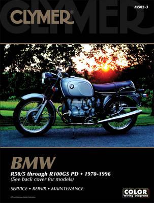 BMW Airhead R50/5 through R100GS PD 1970-1996 Repair Manual