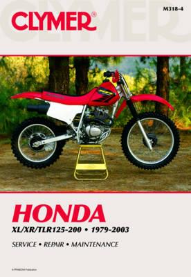 Honda XL/XR/TLR 125-200 1979-2003 Repair Manual