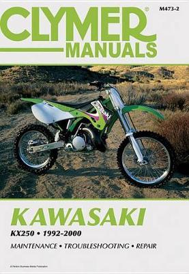 Kawasaki KX250 1992-2000 Repair Manual