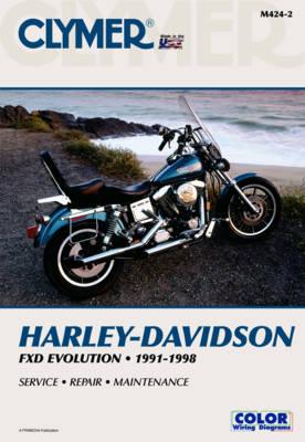 Harley-Davidson FXD Evolution 1991-1998 Repair Manual