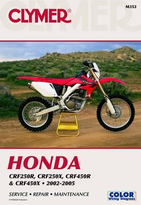 Honda CRF250 & CRF450 Series 2002-2005 Repair Manual