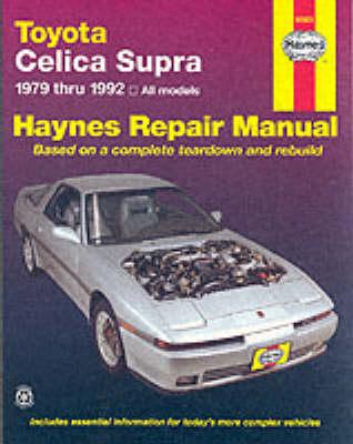 Toyota Celica Supra 1979-1992 Repair Manual