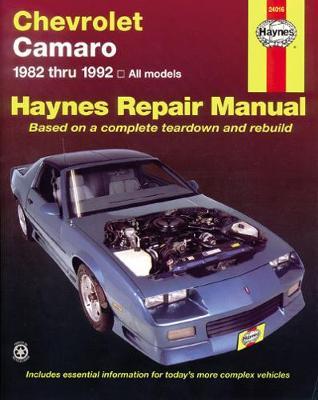 Chevrolet Camaro 1982-1992 Repair Manual