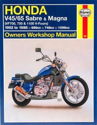 Honda 700/750/1100 Sabre 700/750/1100 Magna 1982-1986 Repair Manual