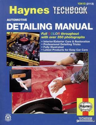 Automotive Detailing Haynes Techbook (USA)