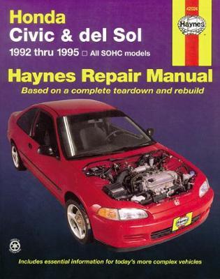 Honda Civic And Del Sol (92 - 95)